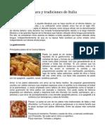 Cultura y Tradiciones de Italia