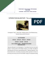 'Operation Bluestar' the Untold Story