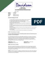 Mod B Assessment