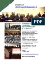 Expositor Motivacional | Carlos de la Rosa Vidal www.ConferenciasMotivacionales.tk