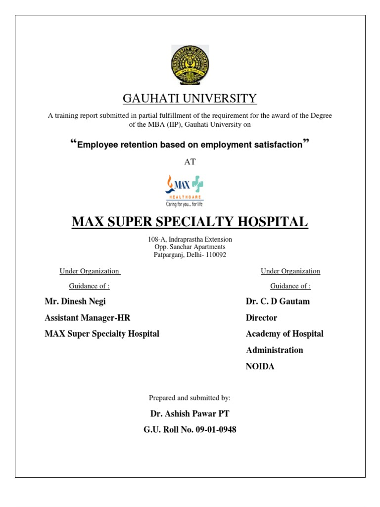 MAX Employment Retention Based on Employment Satisfaction | Health on