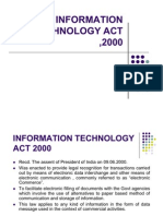 Information Technology Act ,2000