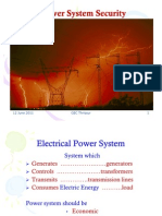 Power System S8 - Power System Security