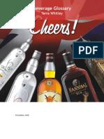 Beverage Glosarry Terms Cheers