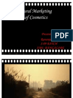 Rural Marketing of Cosmetics