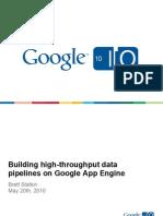 App Engine Data Pipelines