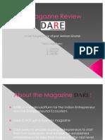 Magazine Review 'DARE'