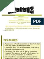 Employee Grievances
