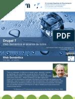 Drupal 7 Web semántica al alcance de todos