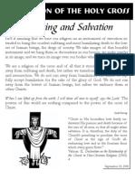 Exultation of the Holy Cross insert