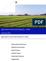 Agriculture and Food Industry in India 2011-Sample