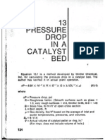 Catalyst Pressure Drop