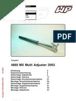 Werkstatthandbuch MXMA 4860