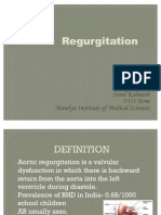 Aortic Regurgitation Ppt