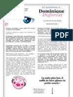 DomDuforest Interview