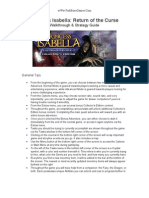 Princess Isabella - Return of the Curse - Walk Through & Strategy Guide - wWw.fishBoneGames