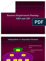 Ch15. Resource Requirements Planning - MRP & CRP