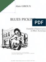 Alain Giroux Blues Picking
