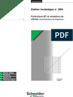 Protections BT Et Variateurs De