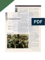 Fire Damage Assessment