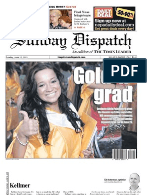 The Pittston Dispatch 06-12-2011 | Wilkes Barre | Mobile