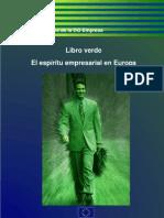 Libro Verde El espíritu empresarial en Europa