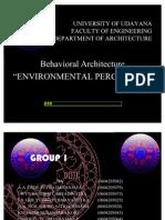 Environmental Perception