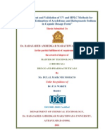 University Department of chemical technology, thesis_Certificates