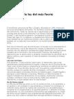 Enric Sopena-El retorno a la ley del más fuerte