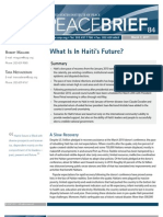 What is in Haiti's Future? March 7, 2011