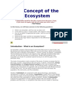 Copy of the Concept of the Ecosystem
