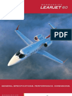 Learjet 60 specification