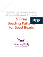 5 Free Seed Bead Patterns