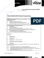 ASCII RS232 Interface Programming