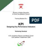 Handout KPI