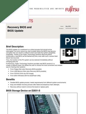 Recovery BIOS and BIOS Update: Brief Description