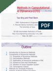 CFD Numerical 2007 Intermediate