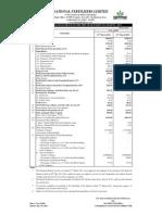 Annexure I (SEBI Results)-March 2011