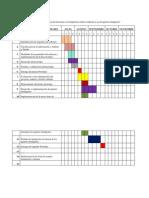 Calendario De Tesis.Cronograma De Actividades Version Word