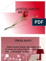 Power Point Media Audio