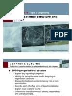 Organisational Structure RobbinsCh10