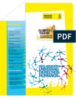 Material para la enseñanza de DD. HH. Amnistía Internacional Infantil