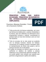 PRINCIPIOS PARA UNA NUEVA ECONOMÍA (Versión revisada y ampliada)