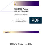The Business Value of WS-BPEL for Business Analysts and Managers (Frank Leymann) - Part 1