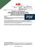 250MVA-Procedimentopara Ensaio SFRA