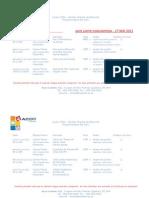 Programmation Été 2011 - Adultes Thérèse de Blainville C