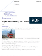 EXA2010 Aerial Tramway in Tatev (Armenia) _tatev