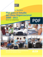 Plan Estudio Clima