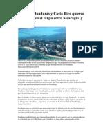 Por qué Honduras y Costa Rica quieren intervenir en el litigio entre Nicaragua y Colombia