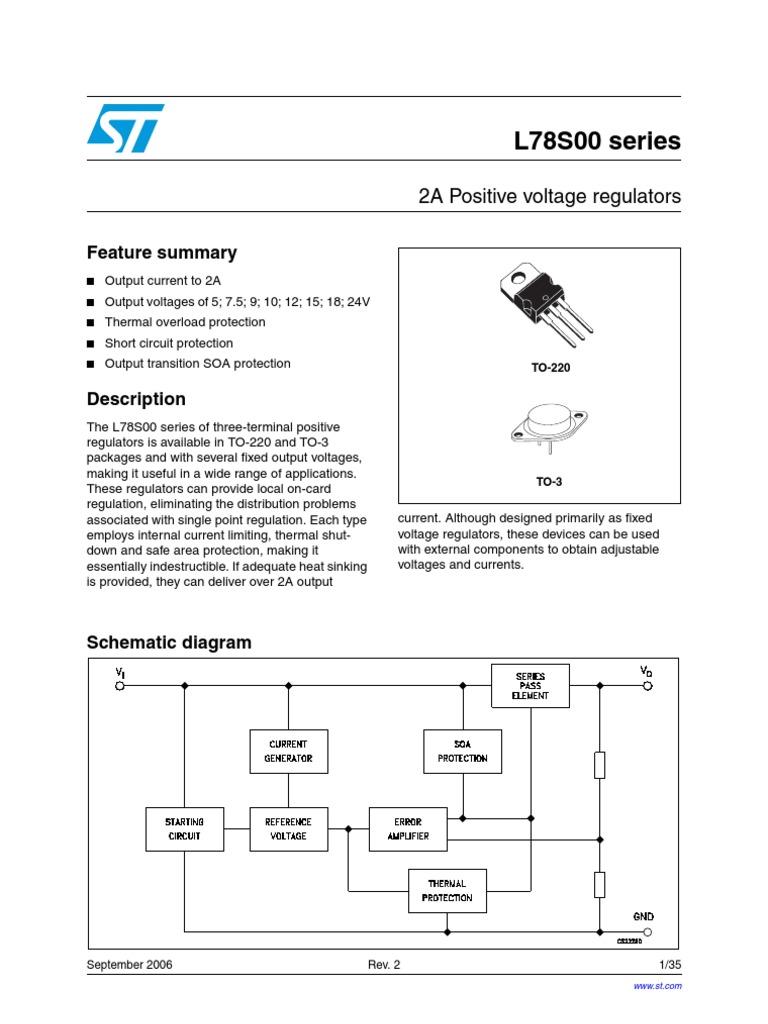 78l05 Electromagnetism Physical Quantities Voltregulator Negative Fixedvoltage Regulator Circuit Diagram